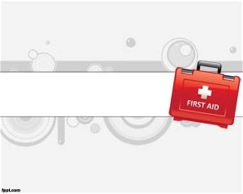 First Aid Powerpoint Aid Powerpoint Template