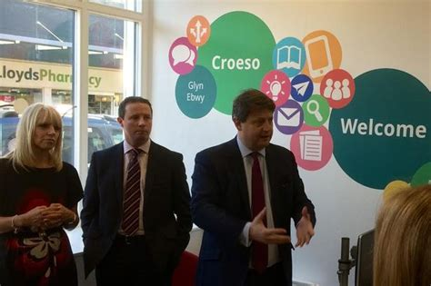design jobs wales advice centre launched in ebbw vale offering help and
