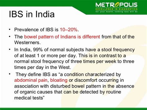 definition pattern absenteeism laboratory investigations in inflammatory bowel disease
