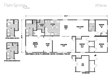 skyline manufactured homes floor plans palm springs series 5starhomes manufactured homes