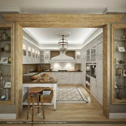 kitchens interiors country chic kitchen interior design ideas