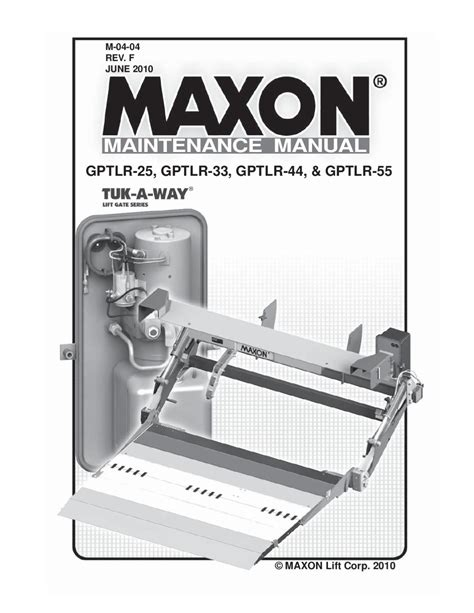 maxon liftgate wiring diagram gate wiring diagram schemes