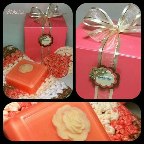 Handmade Soap Gift Sets - soap gift set handmade soap with washcloth scrubbies