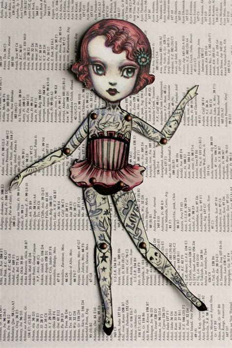 tattoo paper dolls you are so special the amazing tattooed girl fully