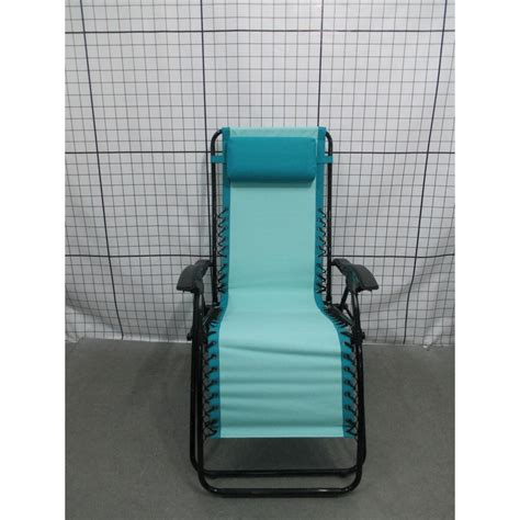 zero gravity patio chaise lounger in aqua fc630 68015 a the home depot