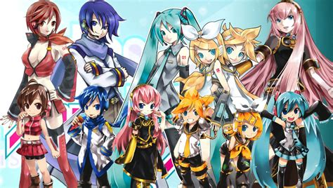 G Anime List by 161 Asombrate Vocaloid Wallpapers