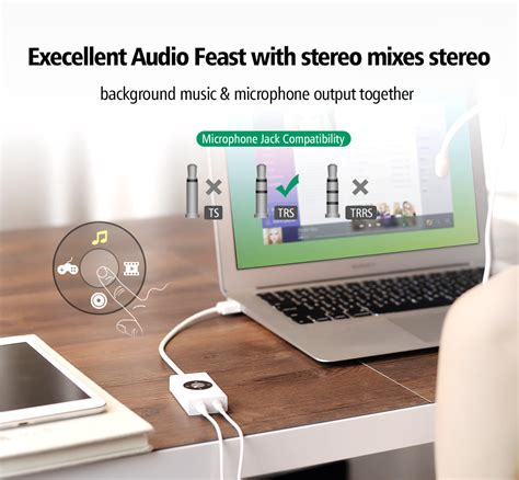 Speaker Usb Untuk Hp ugreen kartu suara audio usb adaptor untuk laptop pc