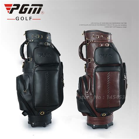 Handmade Leather Golf Bags - popular custom leather golf bag buy cheap custom leather