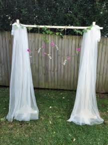 wedding backdrop curtains lace and tulle curtain backdrop teacups and roses