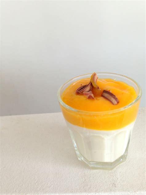 Quark Nachtisch by Lecker Nachtisch Quark Joghurt Mit Mangomus Neuer Stoff