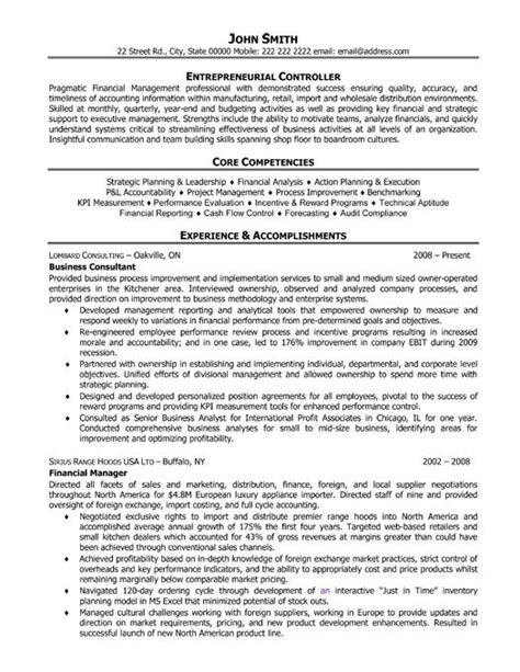 executive level resume templates best accounting resume templates sles a collection