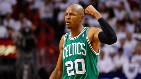celtics retire ray allens number bostoncom