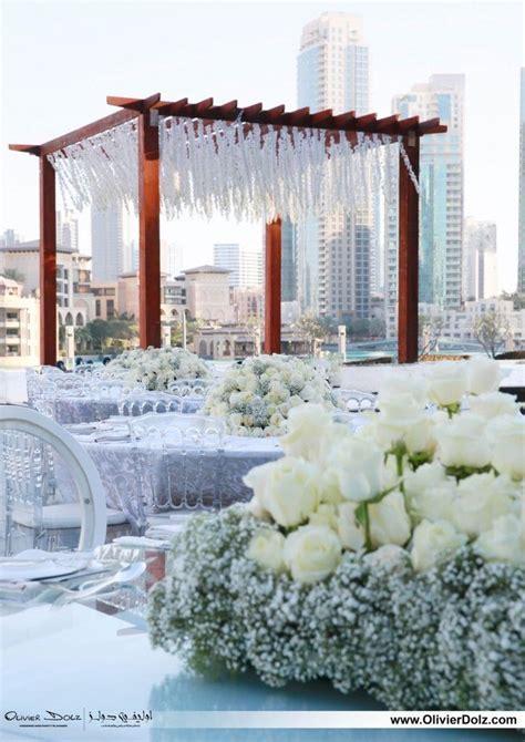 WEDDING VENUES IN DUBAI  ARMANI HOTEL  BALLROOM PAVILION