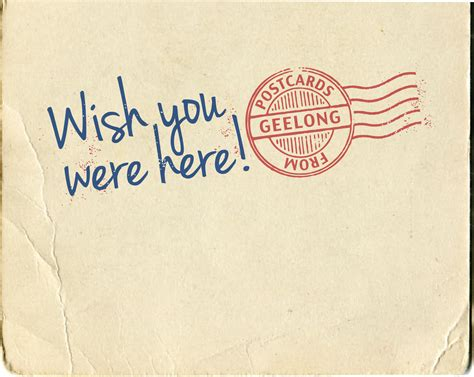 wish you were here postcard template i wish you were here quotes quotesgram