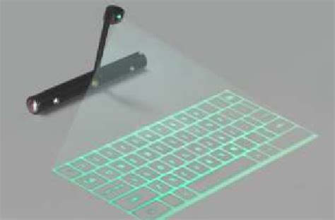 Keyboard Hologram Gadgets The Holographic Keyboard