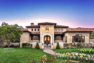 tuscan farmhouse plans tuscan style one story home house ideas pinterest front elevation exterior homes and