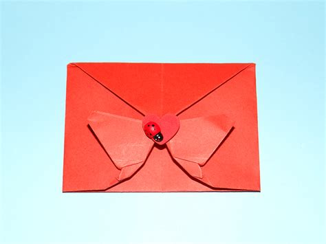 Make An Origami Envelope - ikuzo origami