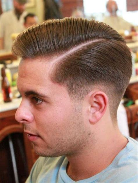 diy mens haircut side part beautiful hair pinterest