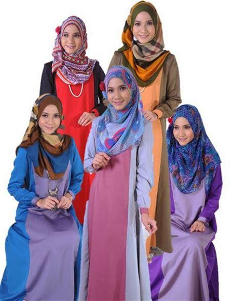 koleksi jubah muslimah 2014 fesyen jubah muslimah terkini kain cotton cantik dan