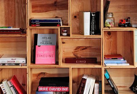 fai da te libreria librerie fai da te originali pallet scale legno e altre