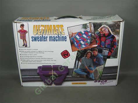 ultimate knitting machine bond america ultimate sweater knitting machine w box 600