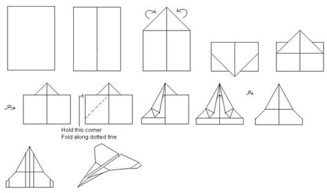 Ways To Make A Paper Airplane Fly Farther - how to make paper airplanes for easily at home
