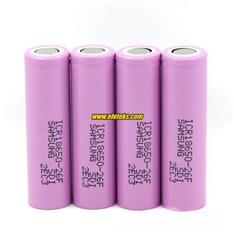 Samsung Icr18650 22fu Lithium Ion Battery 3 7v 2200mah 14 Days original samsung icr18650 26f 3 7v samsung 18650 2600mah rechargeable li ion battery cells