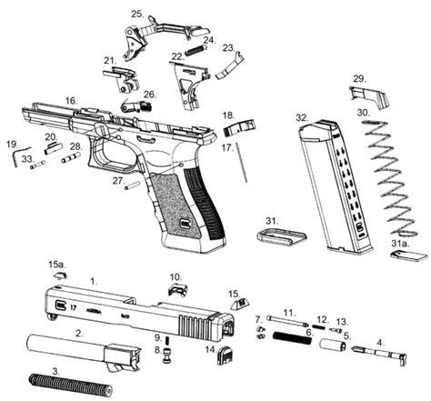glock parts diagram glock parts list techprepper