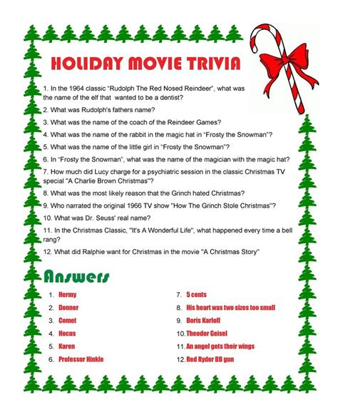 christmas film quiz answers holiday movie trivia with answers merry christmas