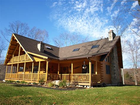 Chalet Style Home Plans Buechel 06595 Katahdin Cedar Log Homes