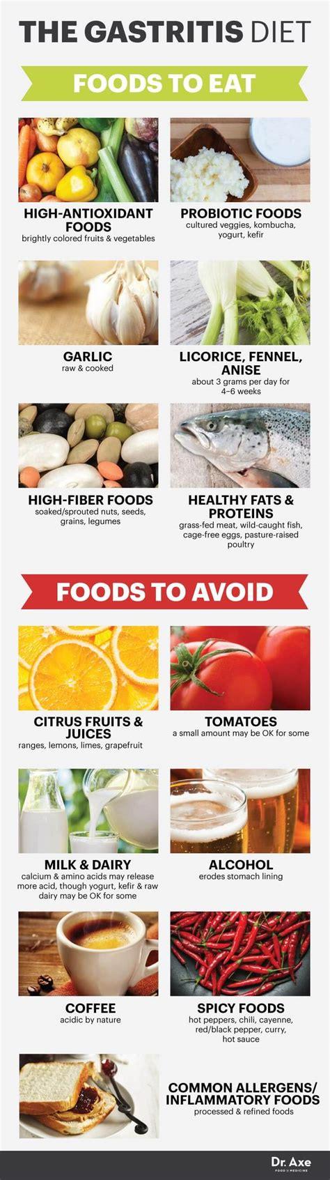 h pylori vegetables gastritis diet treatment plan dr axe
