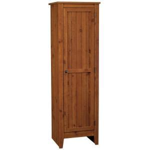 18 Inch Pantry Door by Ameriwood Single Door Pantry In Fashion Pine 7303028