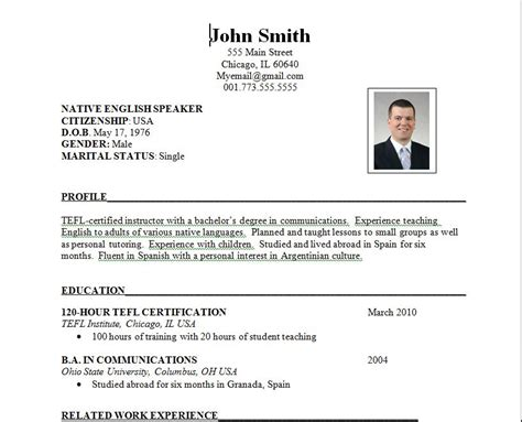 resume international format the hunt writing an international resume teaching