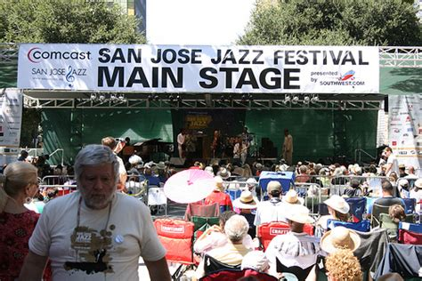 san jose jazz festival map san jose jazz festival flickr photo