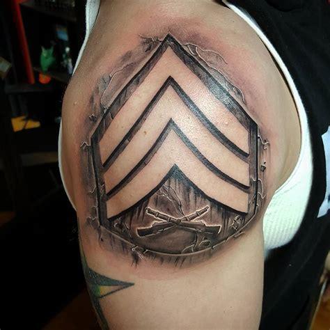tattoo ink us military rank tattoo veteran ink
