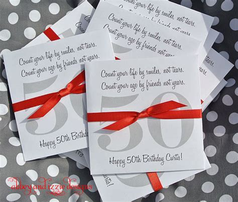 Birthday Giveaways For Adults - adult birthday favors 50th birthday lottery ticket holders