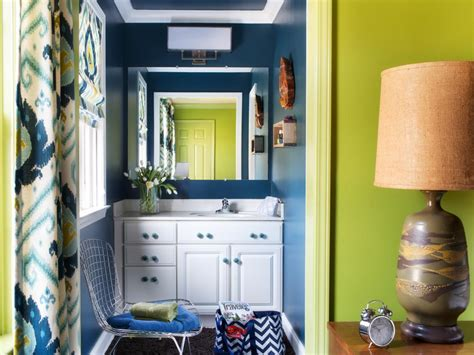 navy and green bathroom photo page hgtv