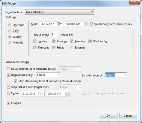windows 7 task scheduler doesn t list my custom task s super user how to use task scheduler to create a repeating alarm
