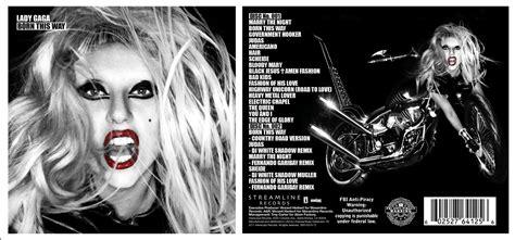 Cd Gaga Born This Way Remixes Imported negro de la torre gaga born this way