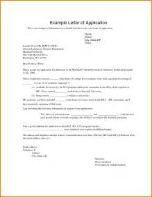 Write Application Letter College 2 How To Write Application Letter For University