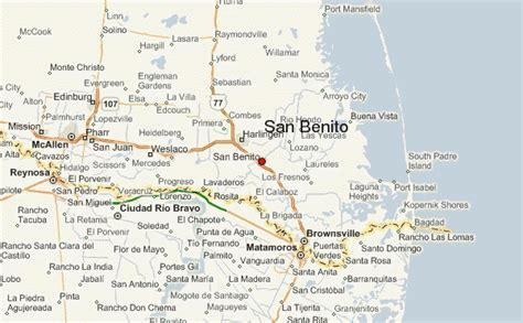 san benito texas map san benito texas location guide