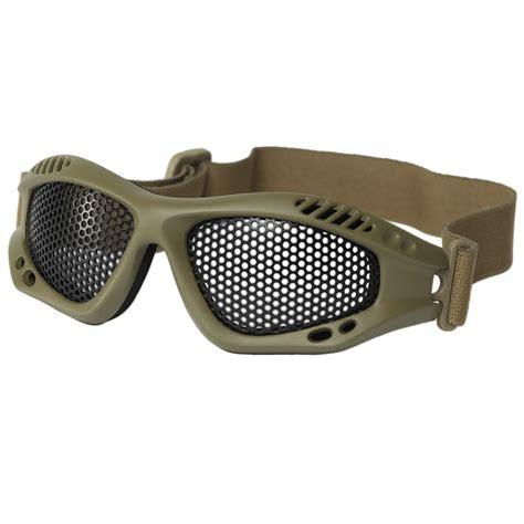 metal tactical mil tec tactical metal wire goggles coyote goggles 1st