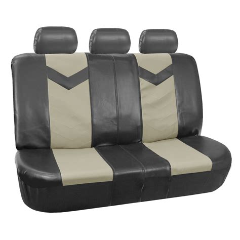 leather bench seat covers synthetic leather auto split bench seat covers ebay