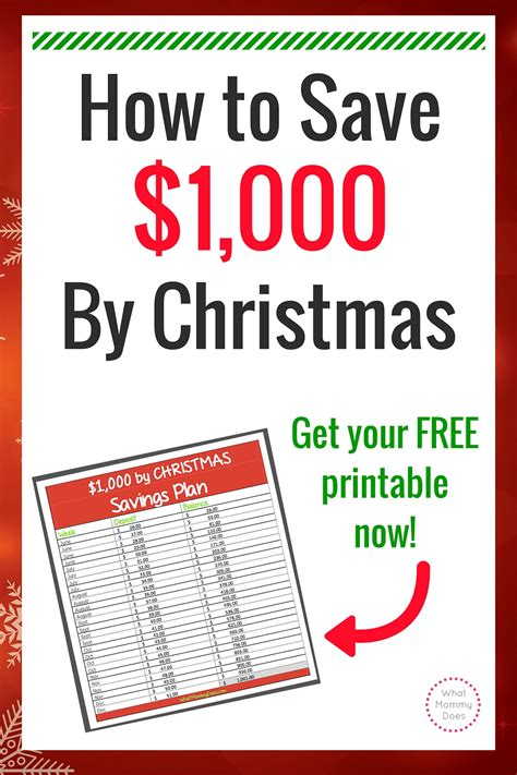 26 week extra 1 000 by christmas savings plan what