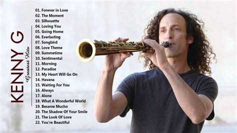 kenny g best of kenny g greatest hits of saxophone the best of
