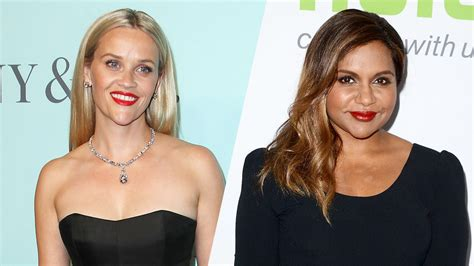 mindy kaling greta story a wrinkle in time reese witherspoon and mindy kaling in