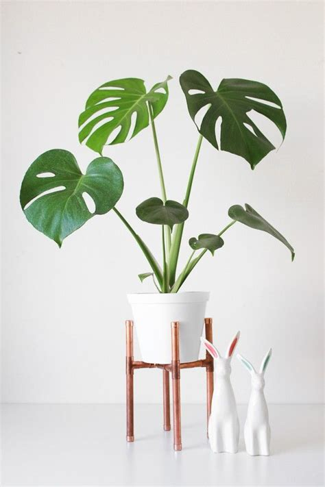 Diy Plant Holder - raised copper pot plant stand diy tutorial nooks