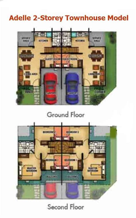 how does floor plan financing work adelle townhouse