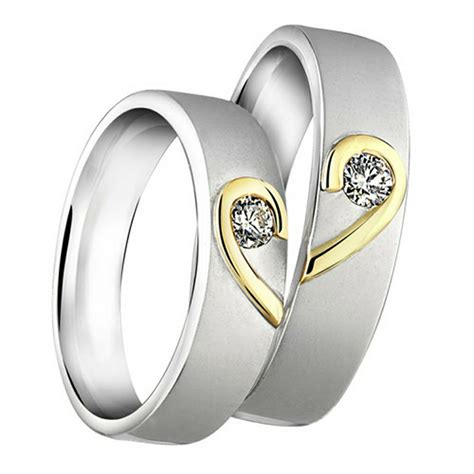 Cincin Kawin Pernikahan Emas Elegan Mewah gambar cincin tunangan untuk calon pengantin selingkaran