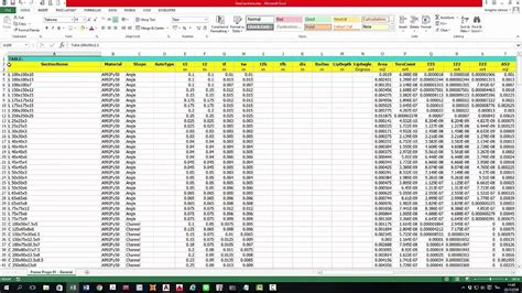sap2000 section designer how to import sections into sap2000 youtube